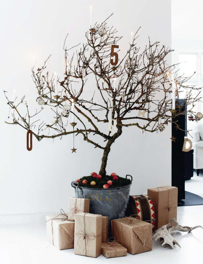 Leafless tree - Alternative Christmas trees via First Sense