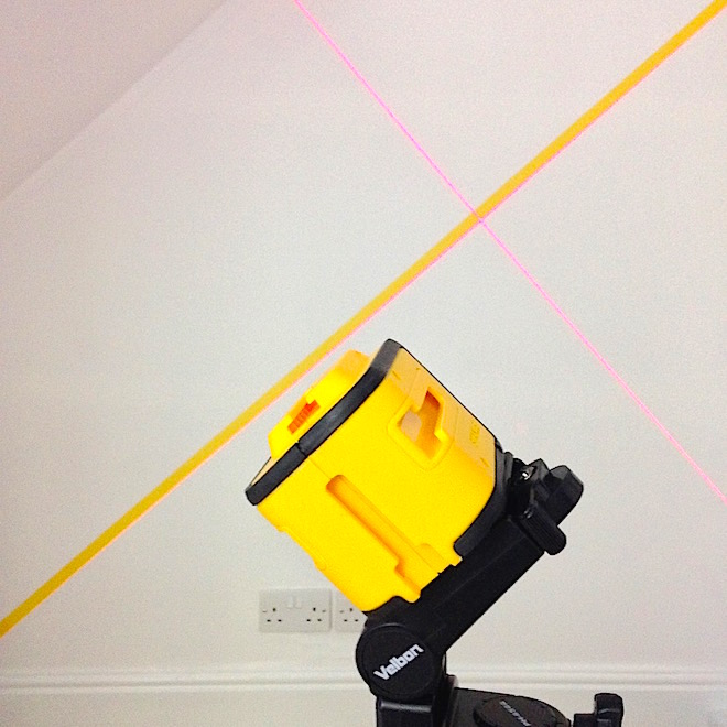 Self levelling laser from Screwfix