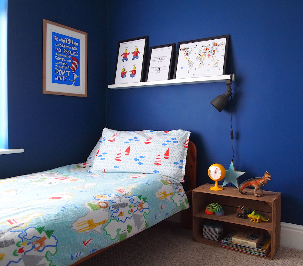 Arty Home - Kid's Room - Bedside and Art