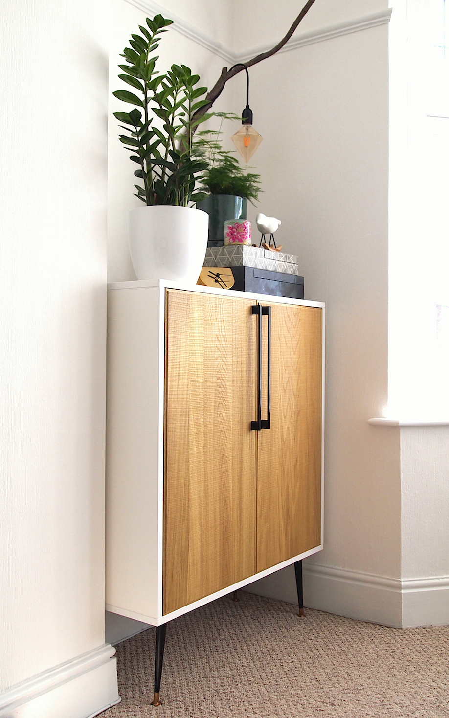 DIY Mid-Century Style Cabinet 2 - Arty Home.png