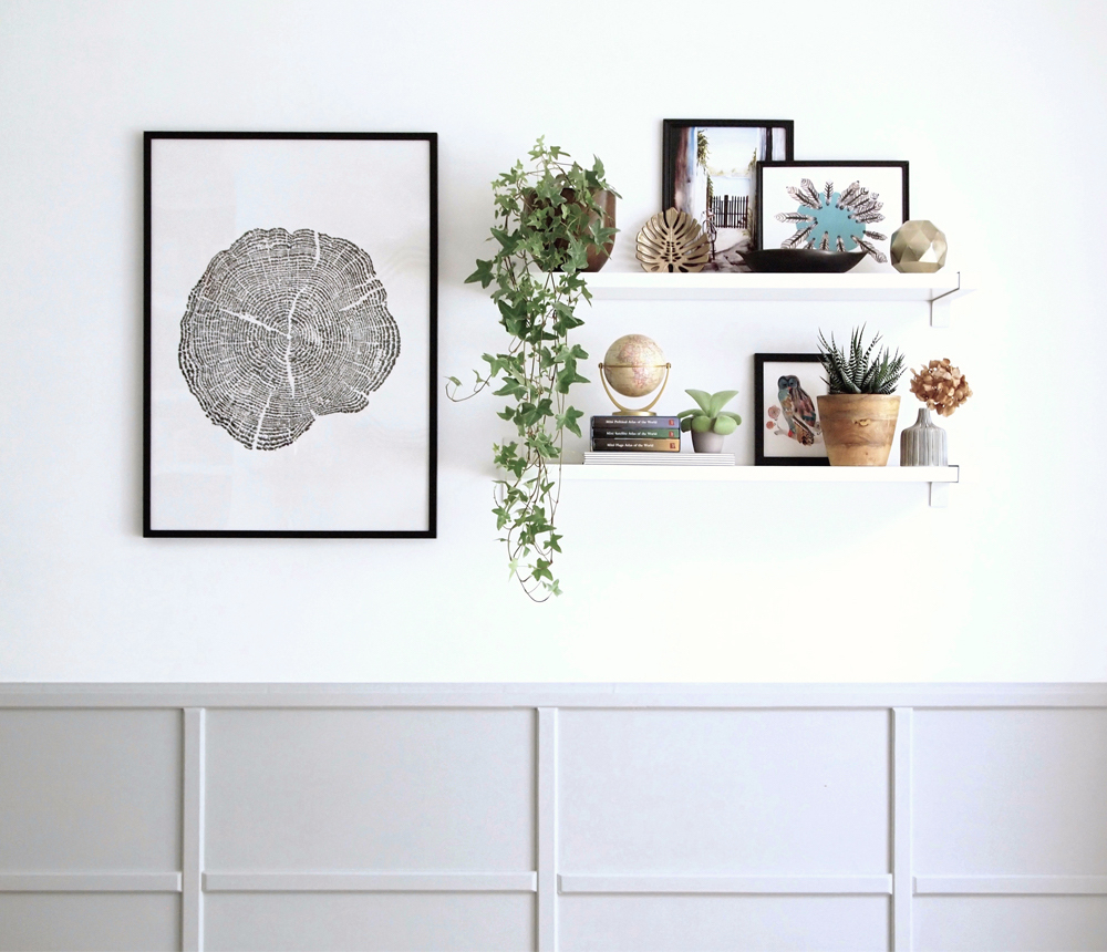 large-art-and-shelves-shelf-styling-tips