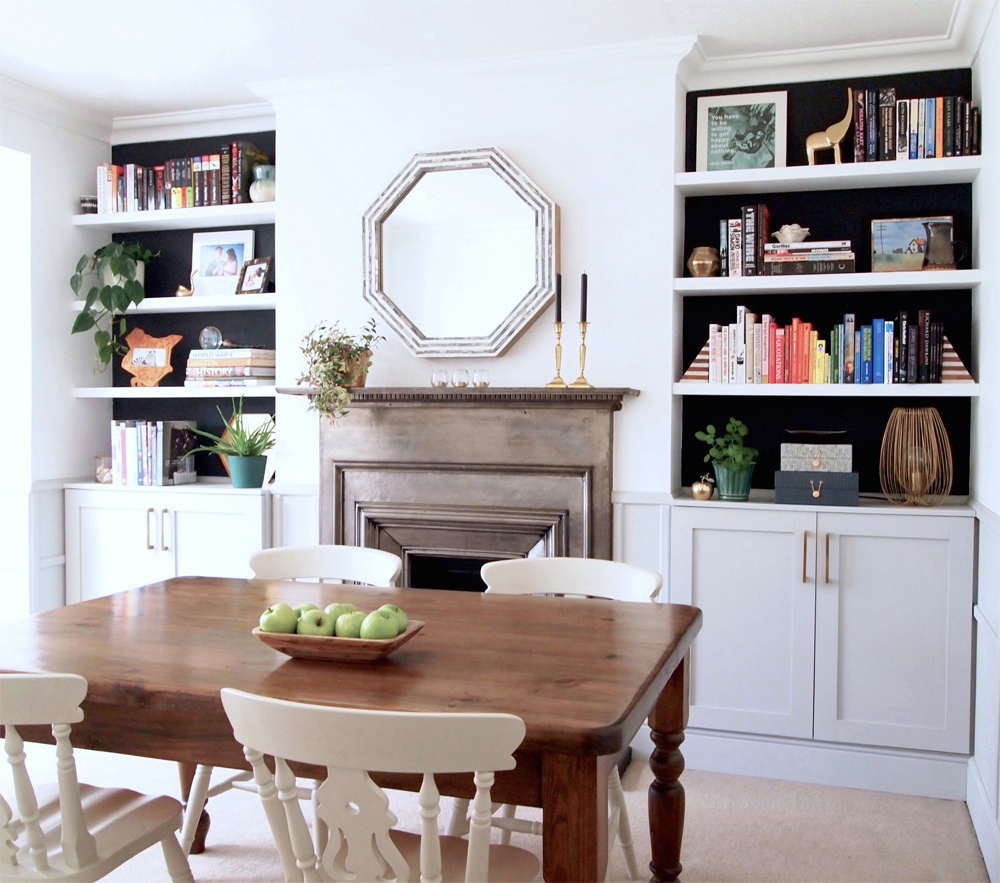 Dining room makeover AFTER - Arty Home