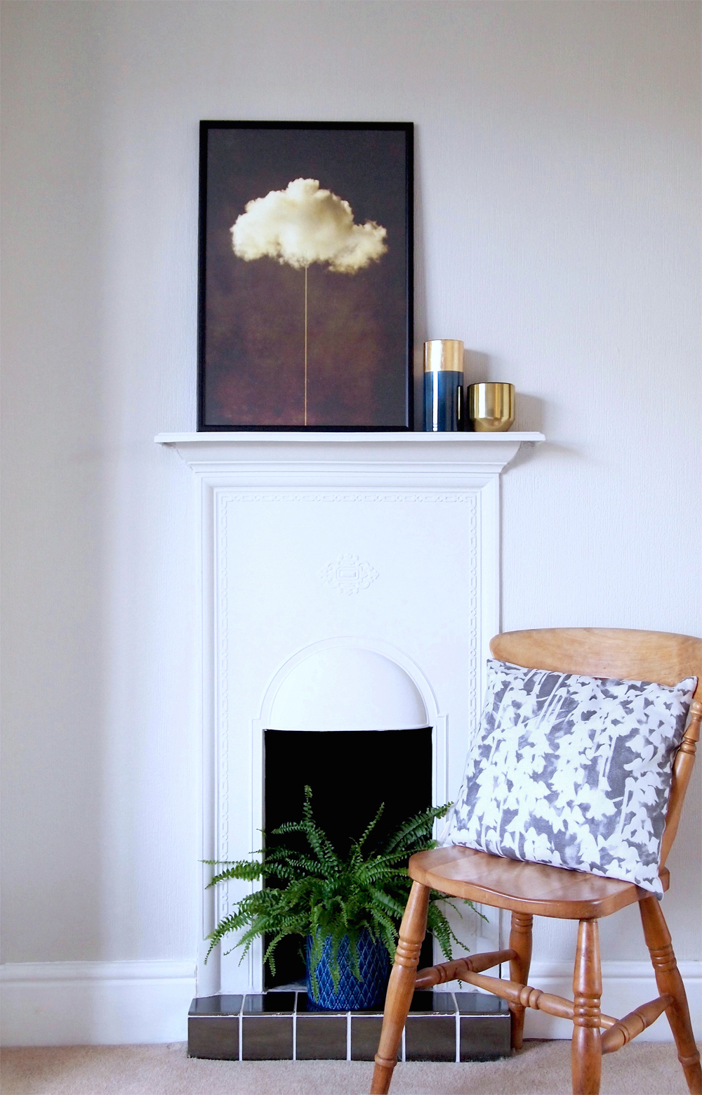 Bedroom chimney wall - Arty Home.jpg