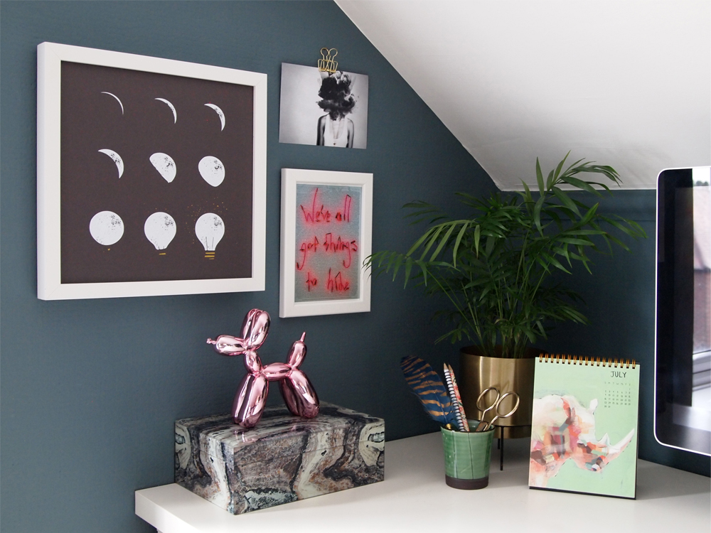 Desk corner - Arty Home