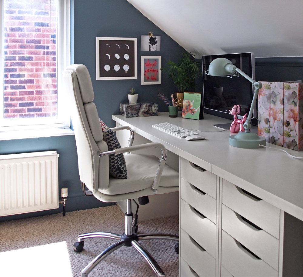 Home Office Makeover - Arty Home