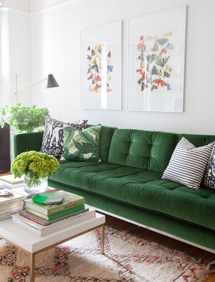 Be bold with upholstery it ll make you very happy for Living room june jordan