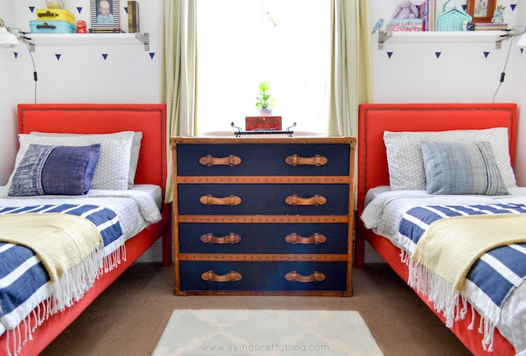 Shared kids room - emmersonandfifteenth