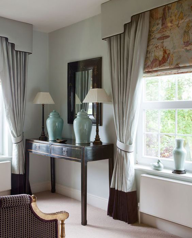 Traditional Window Treatments Living Room: How To Choose Window Treatments