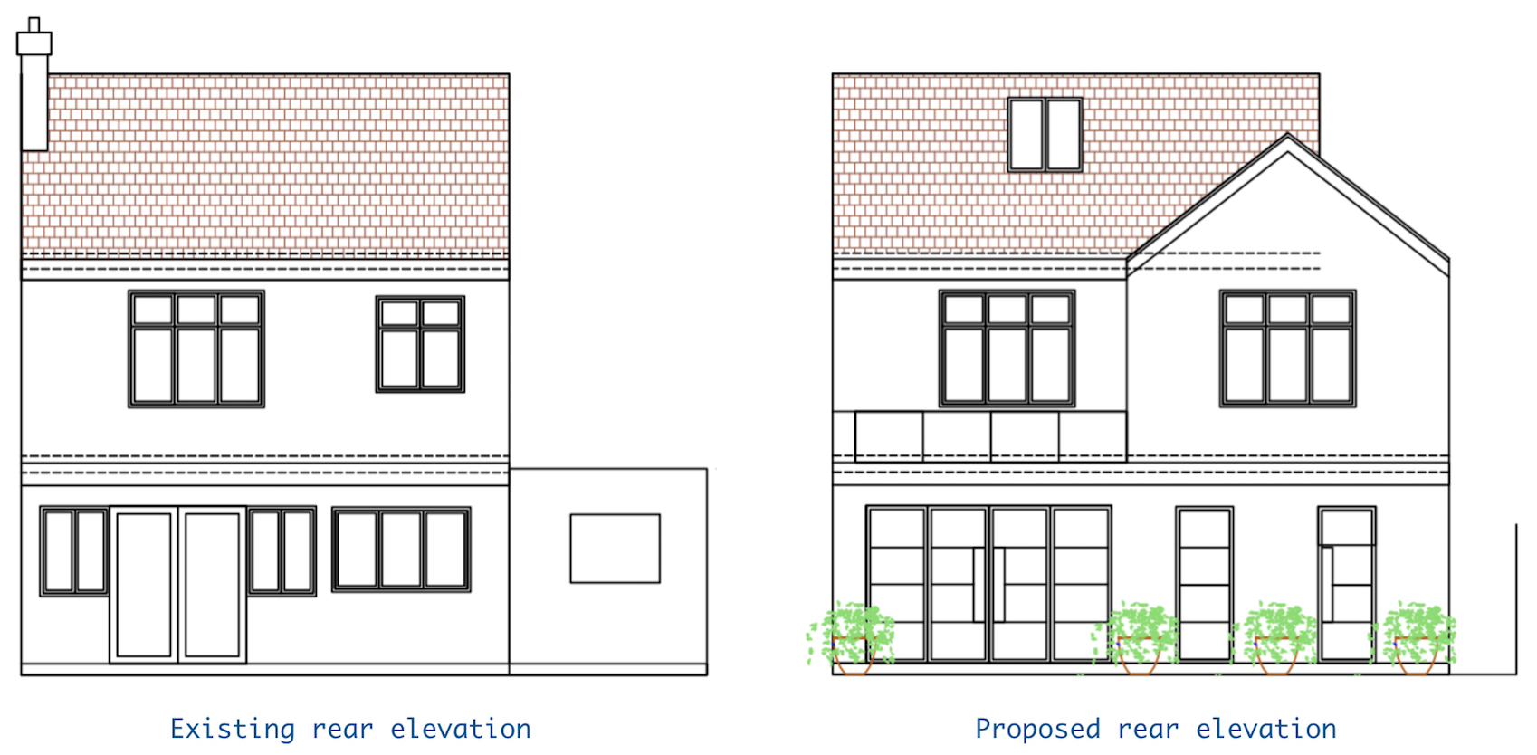 1930s house extension plans - FIRST SENSE
