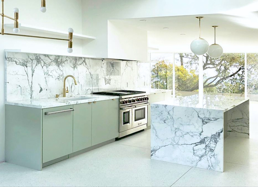 Mandy Moore's kitchen designed by Sarah Sherman Samuel