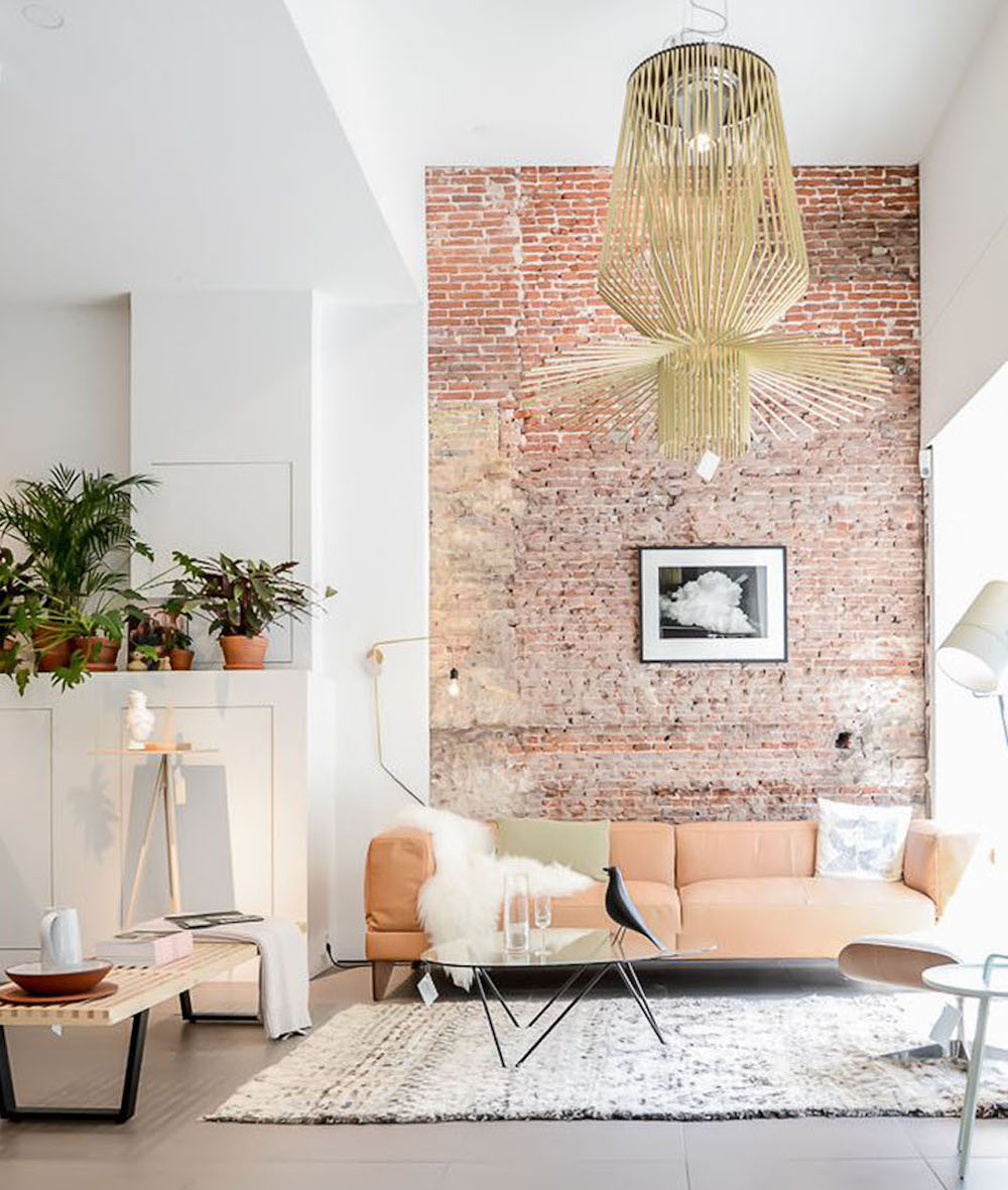 The Easy To Way To Create A Brick Feature Wall