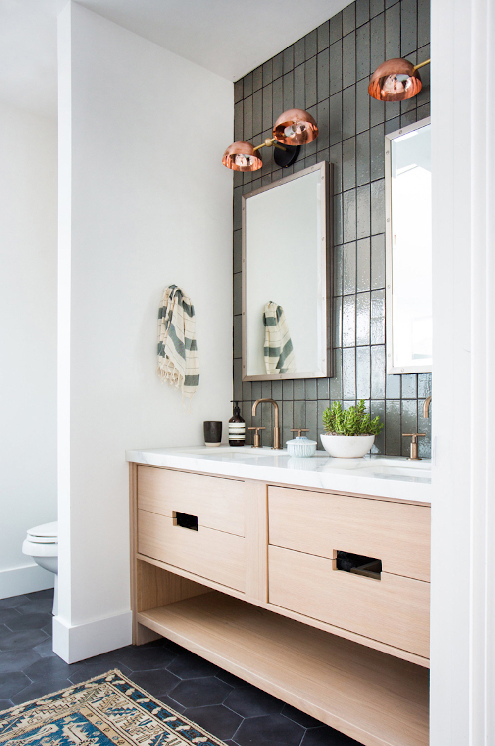 Bathroom renovation tips by First Sense || Bathroom design by Amber Interiors