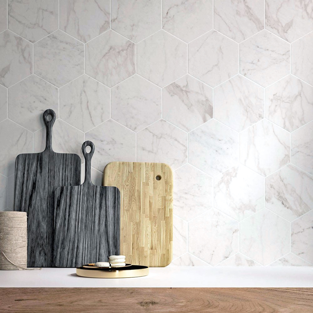 Marmi Hex from Porcelain Superstore