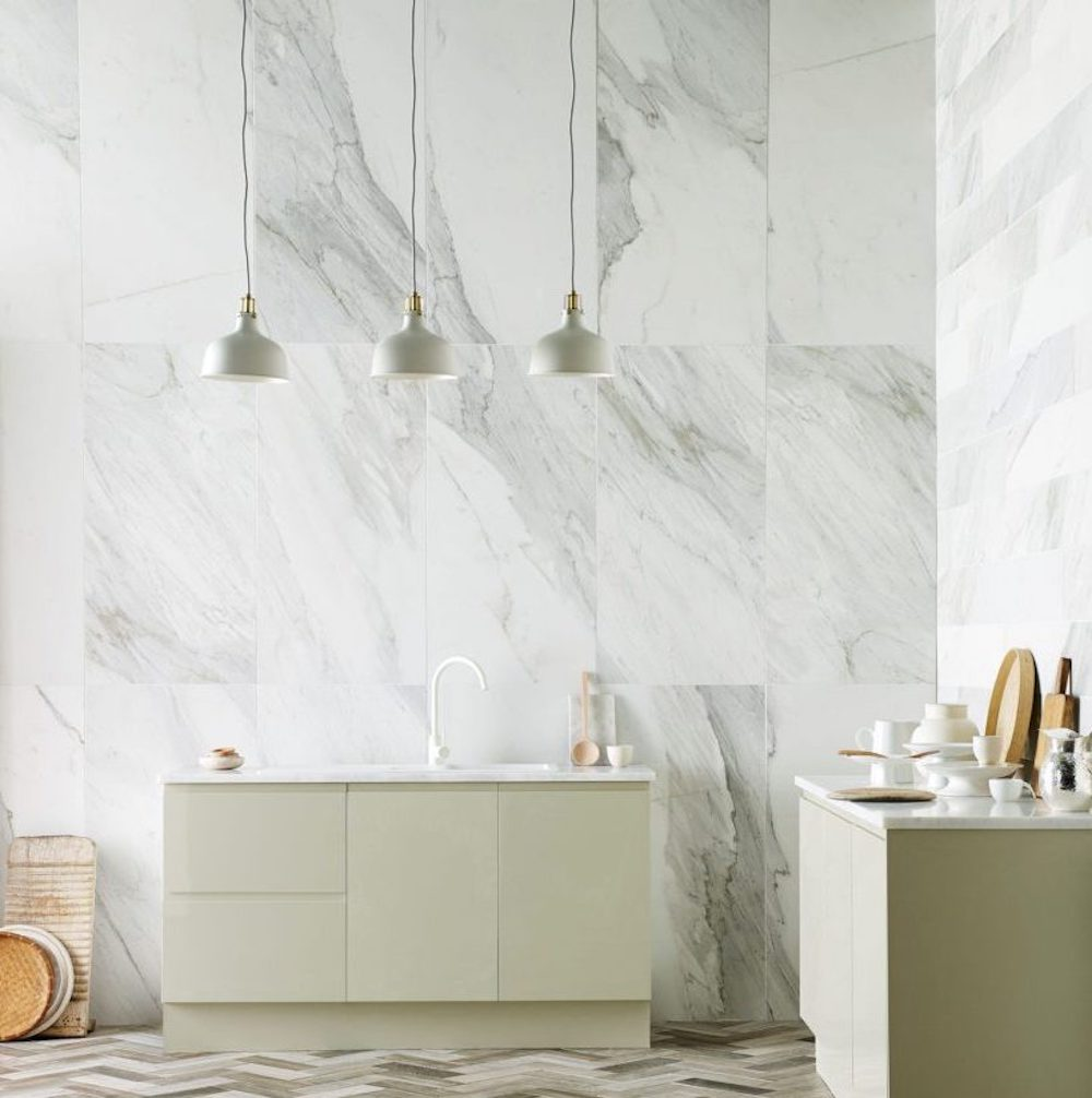 The Best White Marble Effect Tiles First Sense Interiors