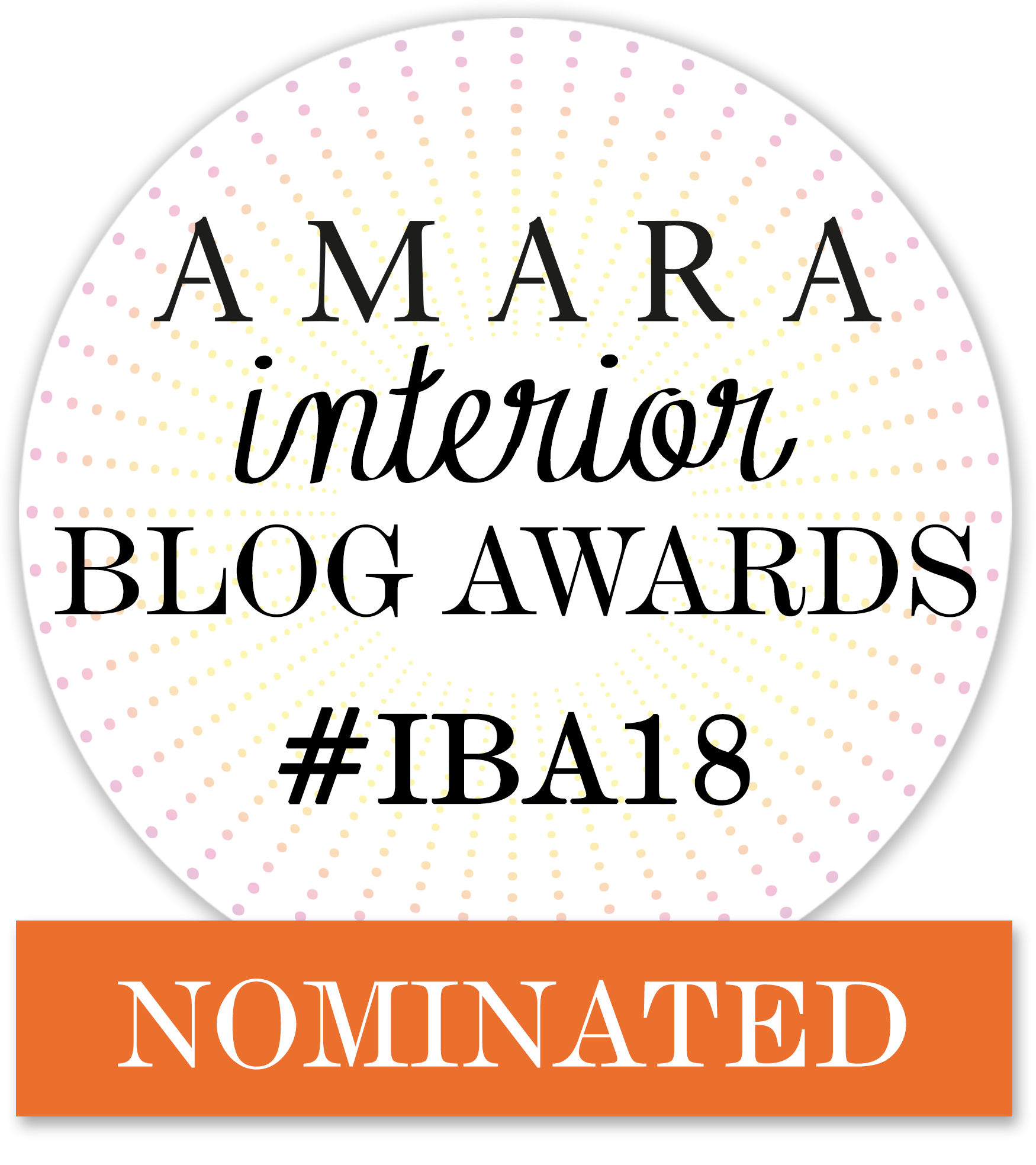 Vote for First Sense Interiors at the Amara Blog Awards 2018