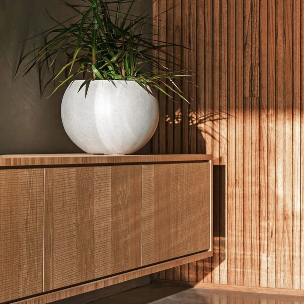 Natural timber in interiors - FIRST SENSE