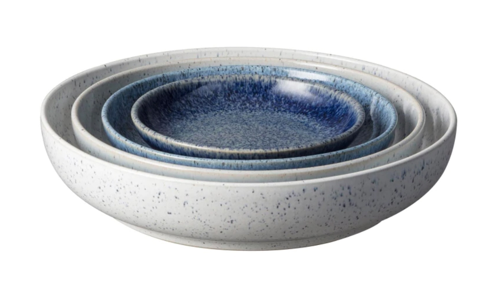 Denby Studio Blue Nesting Bowls || First Sense Christmas Gift Guide