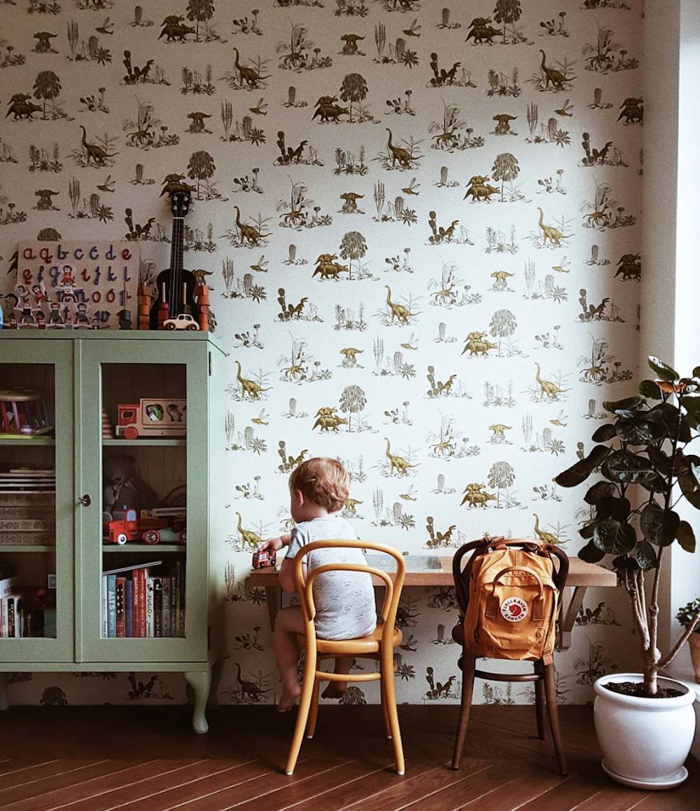 Sian Zeng dinosaur wallpaper // Kamila Pelczar