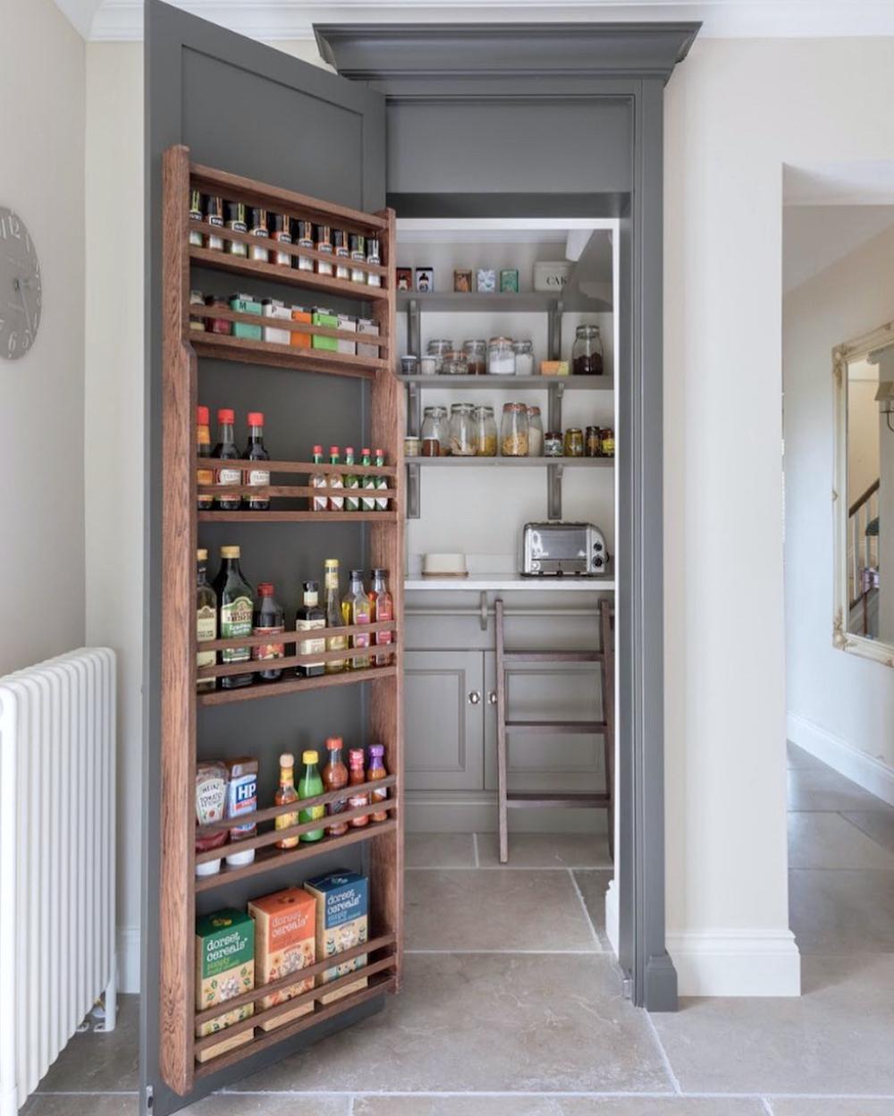 Walk in pantry designed by Humphrey Munson || First Sense kitchen renovation inspiration