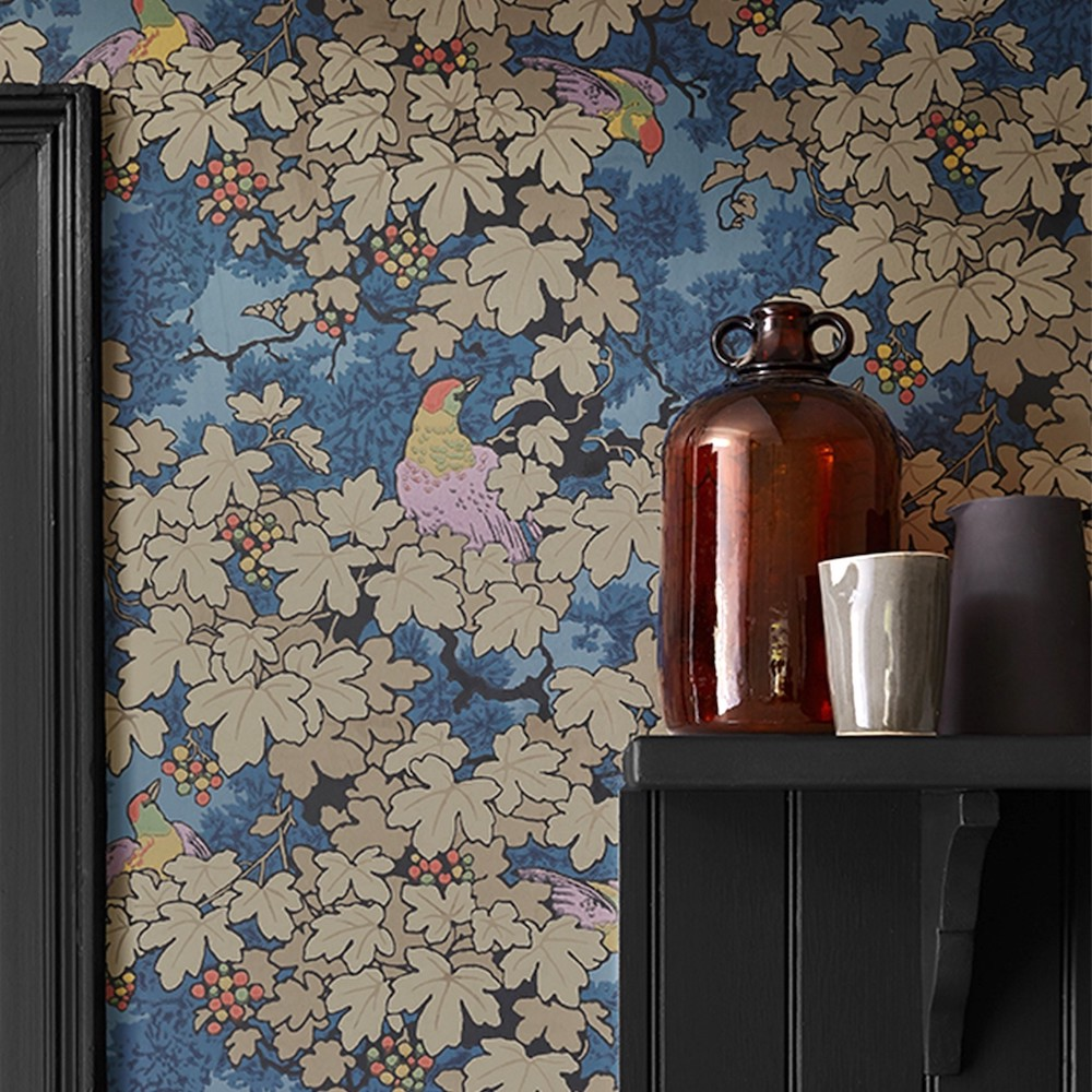 Best botanical wallpapers || Little Greene - Archive Trails