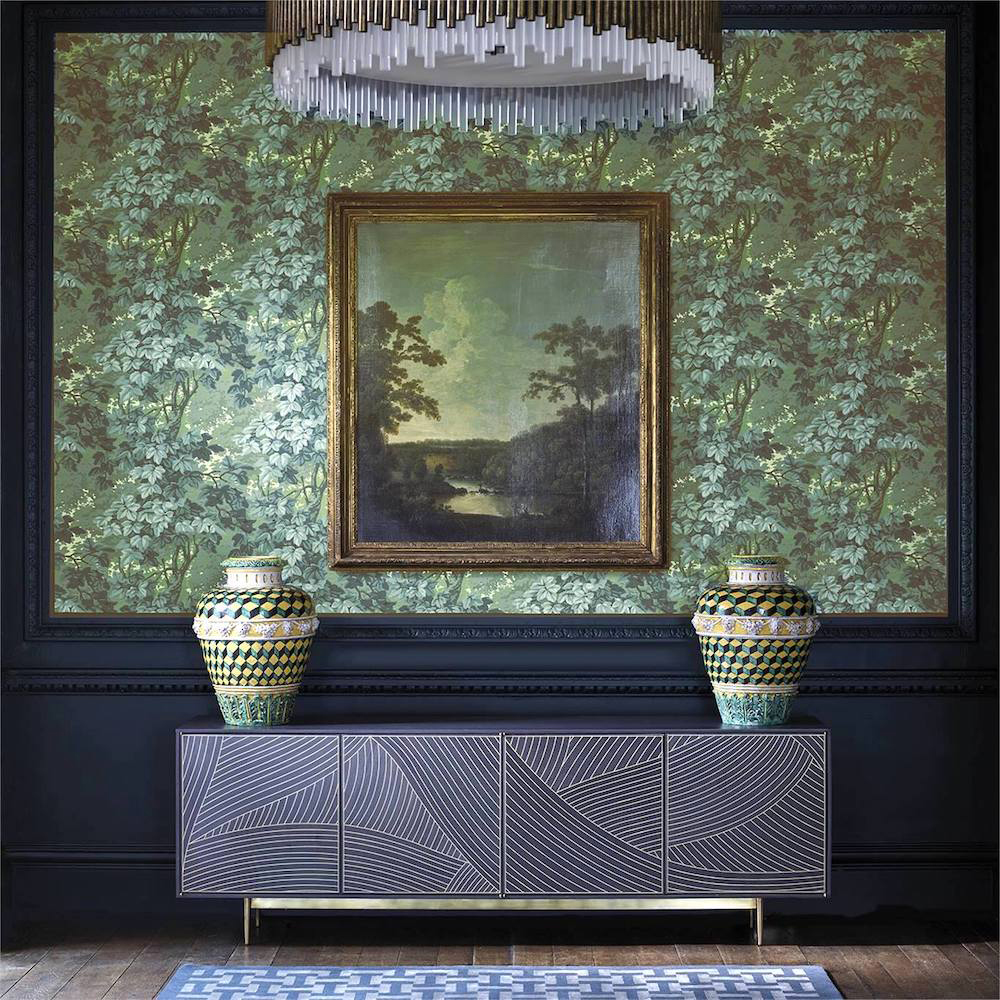 Best botanical wallpapers || Zoffany - Richmond Park