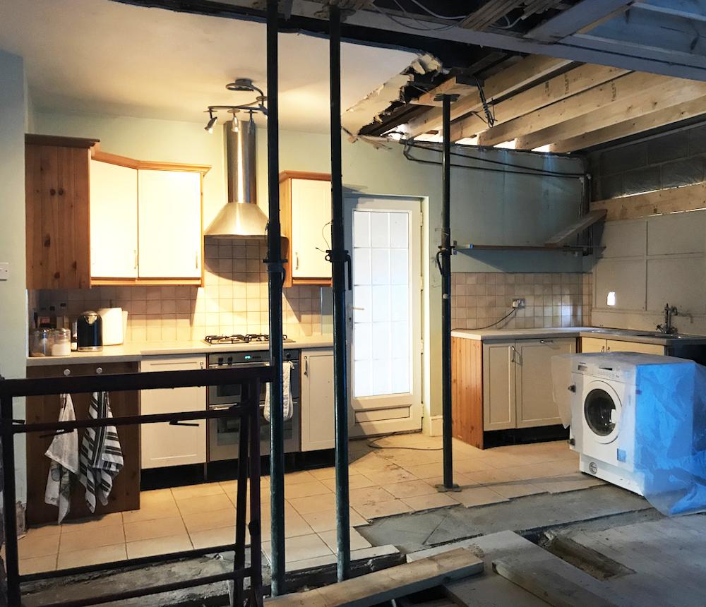 First Sense Renovation - Kitchen situation
