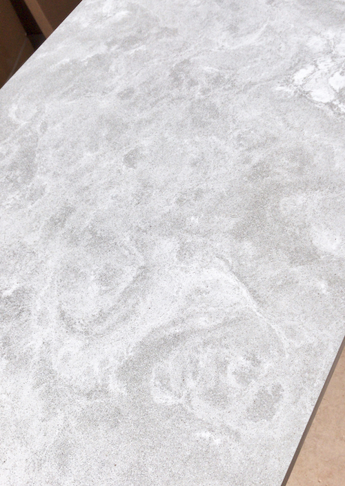 Solid surface Mistral Moonscape worktop