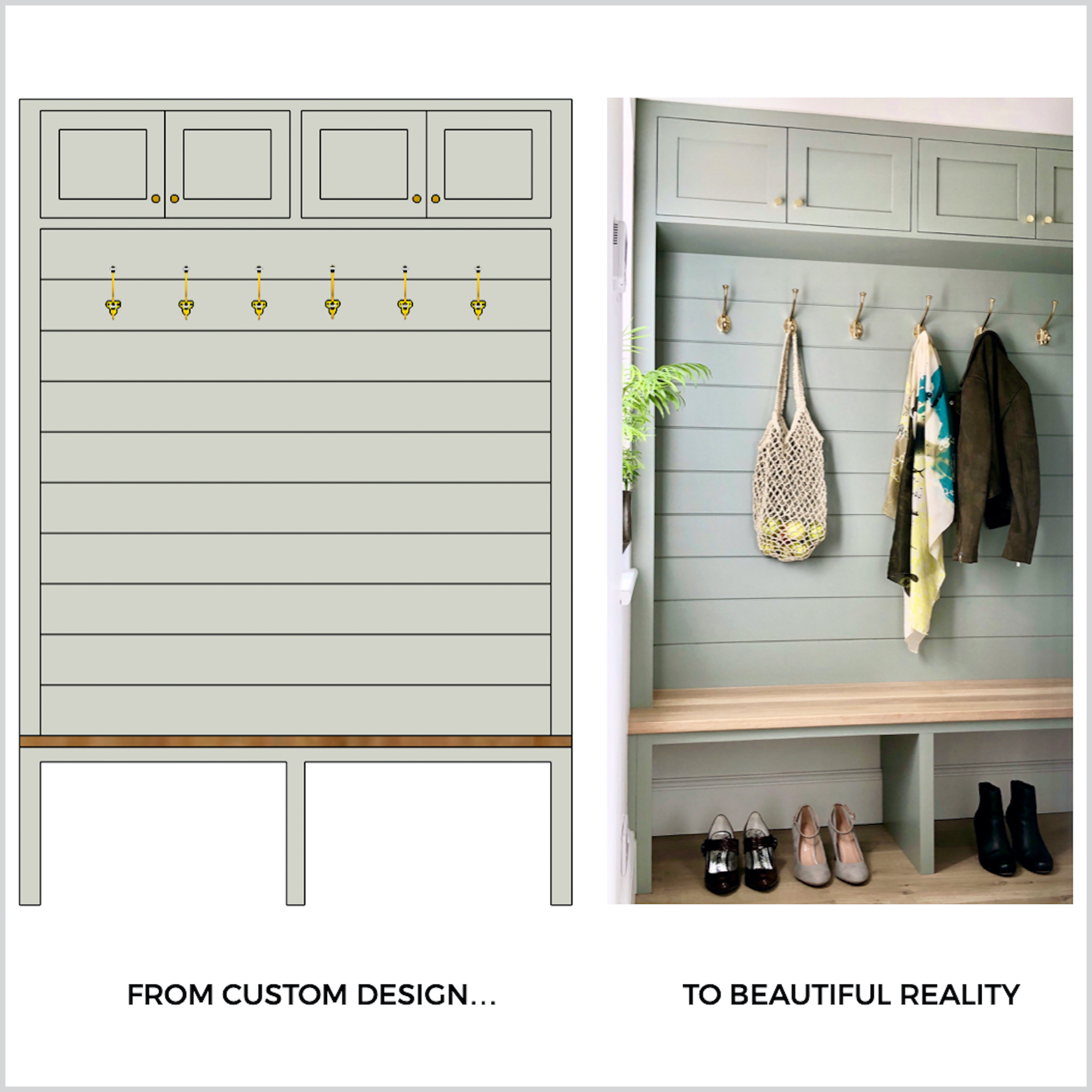Bespoke furniture design and joinery - First Sense Interiors